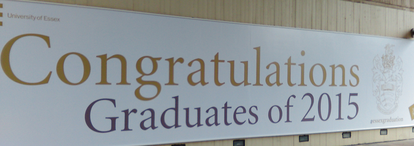 Graduation banner 2015