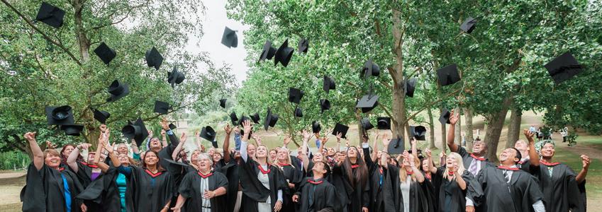 Graduation hst toss 2015
