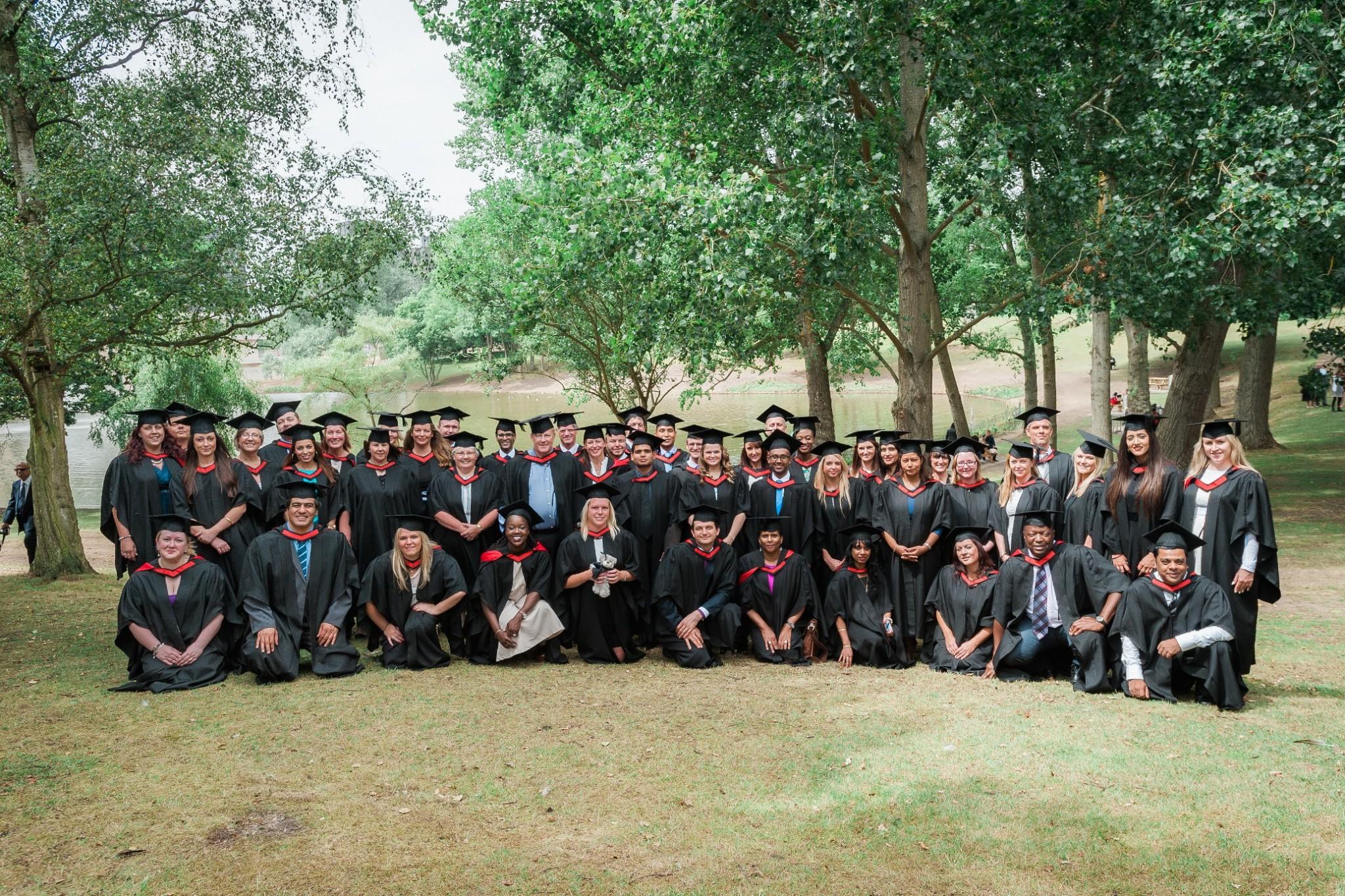 2015 Graduates group shot